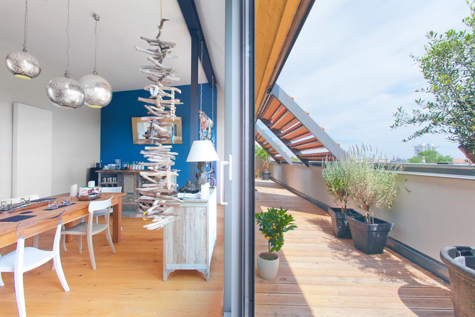 Penthouse Loft Wohnung Mit Dachterrasse Berlin Kreuzberg Mieten