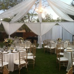 Tent And Chair Rental Parts Names Draping/decor | Party Glendale Ca