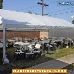 Party Rentals Tables And Chairs Preloved Chair Covers For Sale Tent 20ft X 30ft Rental Partyretanls Canopy Tents White Renta San Fernando Valley