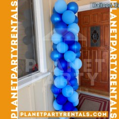 Royal Blue Chair Covers High Amazon Balloon Decorations | Partyretanls Canopy Tents Chairs Tables Jumpers Patioheaters