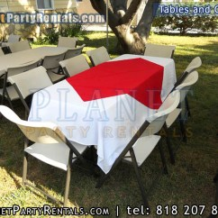 Tables And Chairs Rental Price Chair Into Bed Rectangular Round Party Rentals Encino Tarzana