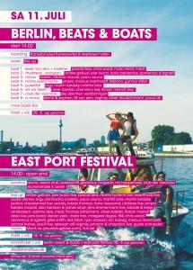 Berlin, Beats & Boats, die Boot Parade auf der Spree