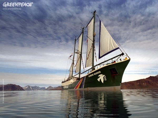rainbow warrior crowdfunding 3d website ship greenpeace donation