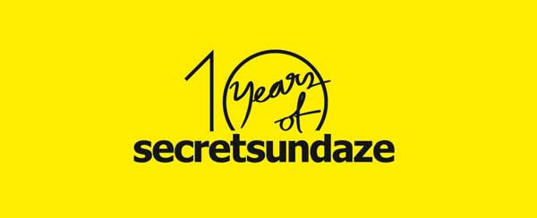10 years secretsundaze James Priestley + Giles Smith sectretsundaze CD Release: 15.07.11