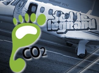 JET-SETTING FEDDE LE GRAND GOES GREEN TO OFFSET HIS CARBON FOOTPRINT