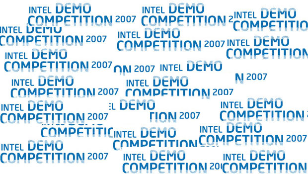 bild der intel demo competition 2007