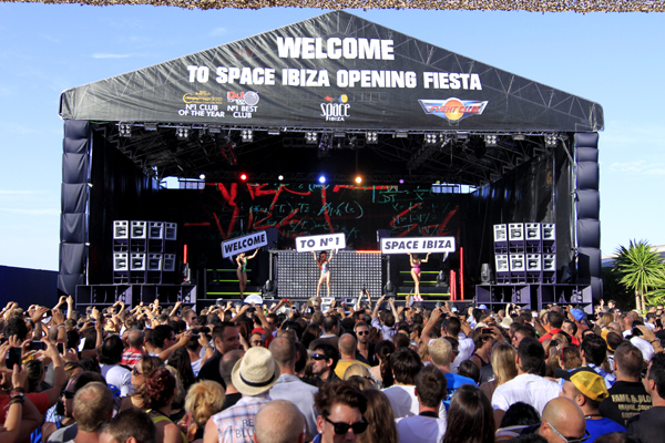 Space Ibiza Opening 2012