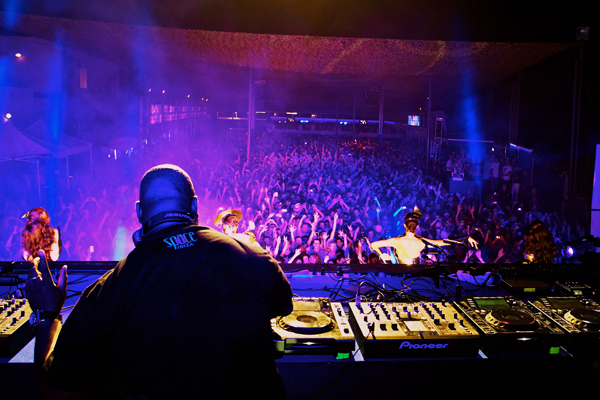 Carl Cox at Space Opening Fiesta 2011