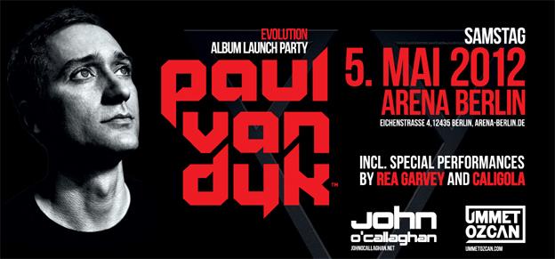Arena Berlin, 05. Mai 2012, Album Party