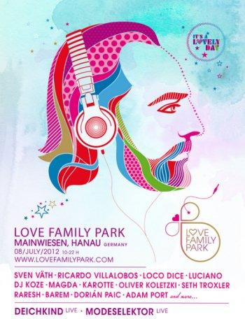 Love Family Park 2012 – A lovely da So. 08.07. @ Mainwiesen, Hanau