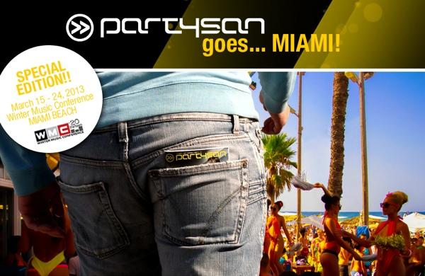 Partysan goes Miami WMC