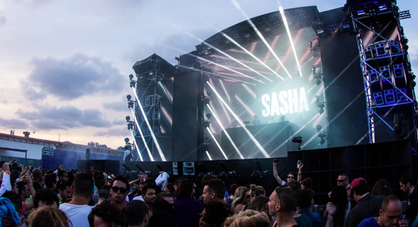 Space Opening Party Sasha