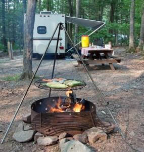 Campsite Meal