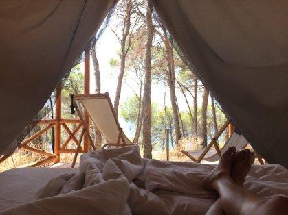 The mandatory Tent-Shot - Obonjan Island Cratia 2017