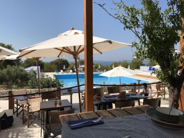 Main Restaurant with Pool - Obonjan Island Cratia 2017