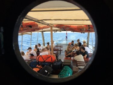 Ferry to Obonjan Island Cratia 2017