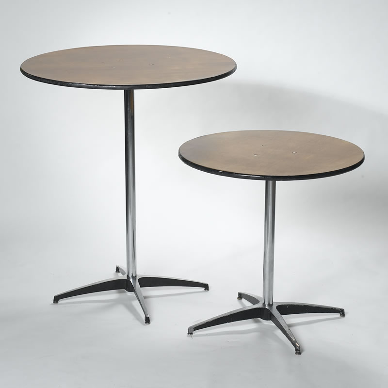 stand up cocktail table rental high