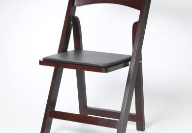 Black Folding Chairs Wedding