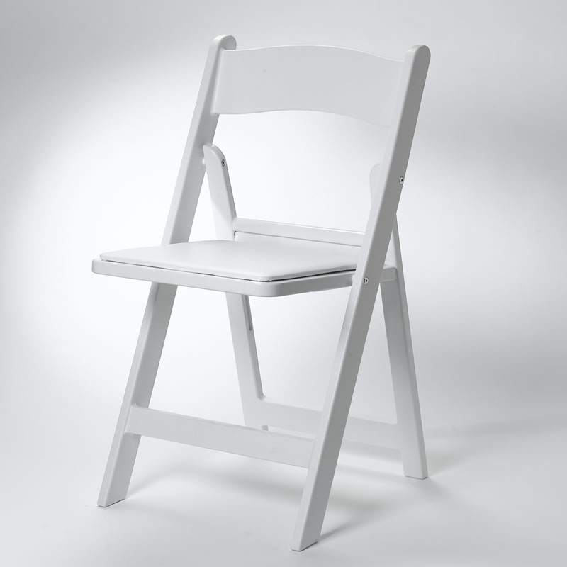 black metal folding garden chairs best geneva espresso wood glider reviews padded chair rentals partysavvy pittsburgh pa white