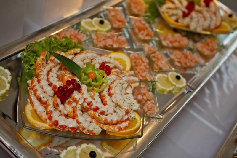 Fischplatten  Galerie  Hochzeitsessen Partyservice Elite