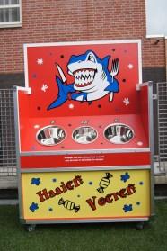 Haaien voeren