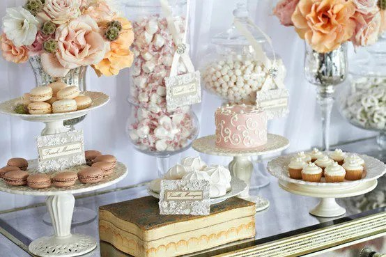 vintage-candy-buffet