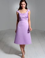 Lilac Purple Bridesmaid Dress by Saison