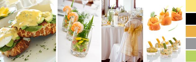 Party simplicity wedding reception for Wedding reception ideas for spring