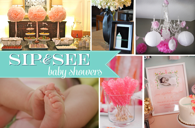 Sip and See baby showers