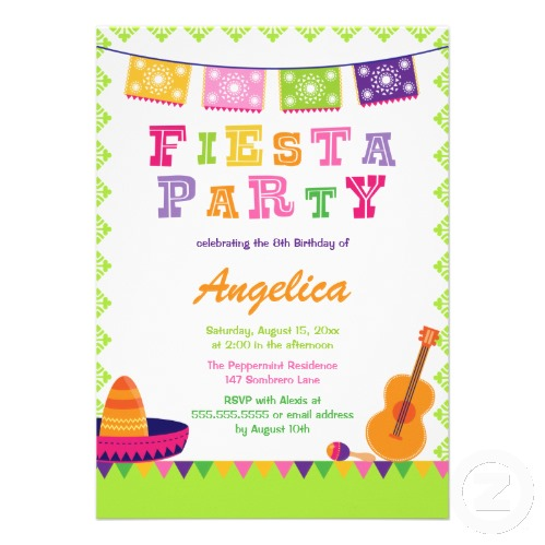 party simplicity fiesta birthday party invitation design challenge