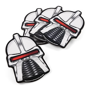Retro Battlestar Galactica Cylon Coasters