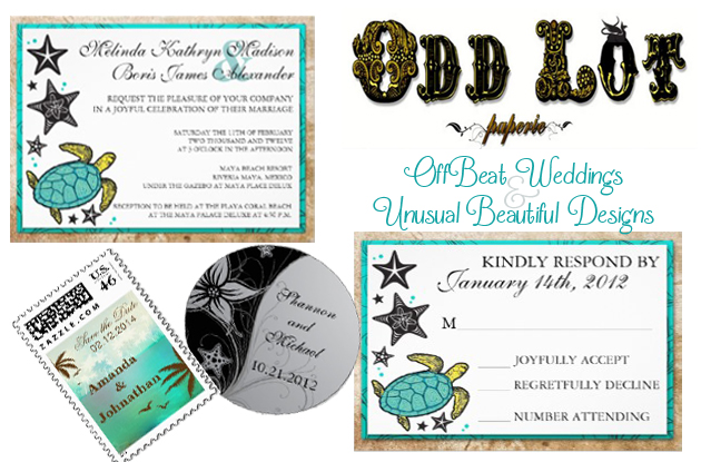 Odd Lot Paperie Beach Invites