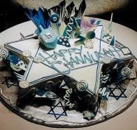 Hanukkah Celebration cake