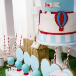 Hot Air Balloon Birthday Party Dessert Buffet