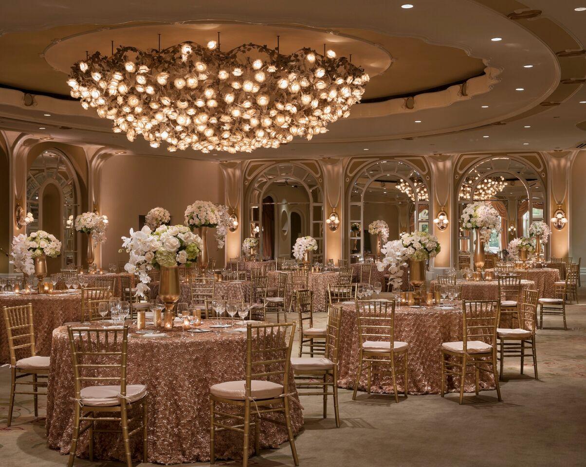 Beverly Hills Hotel Crystal Ballroom Partyslate