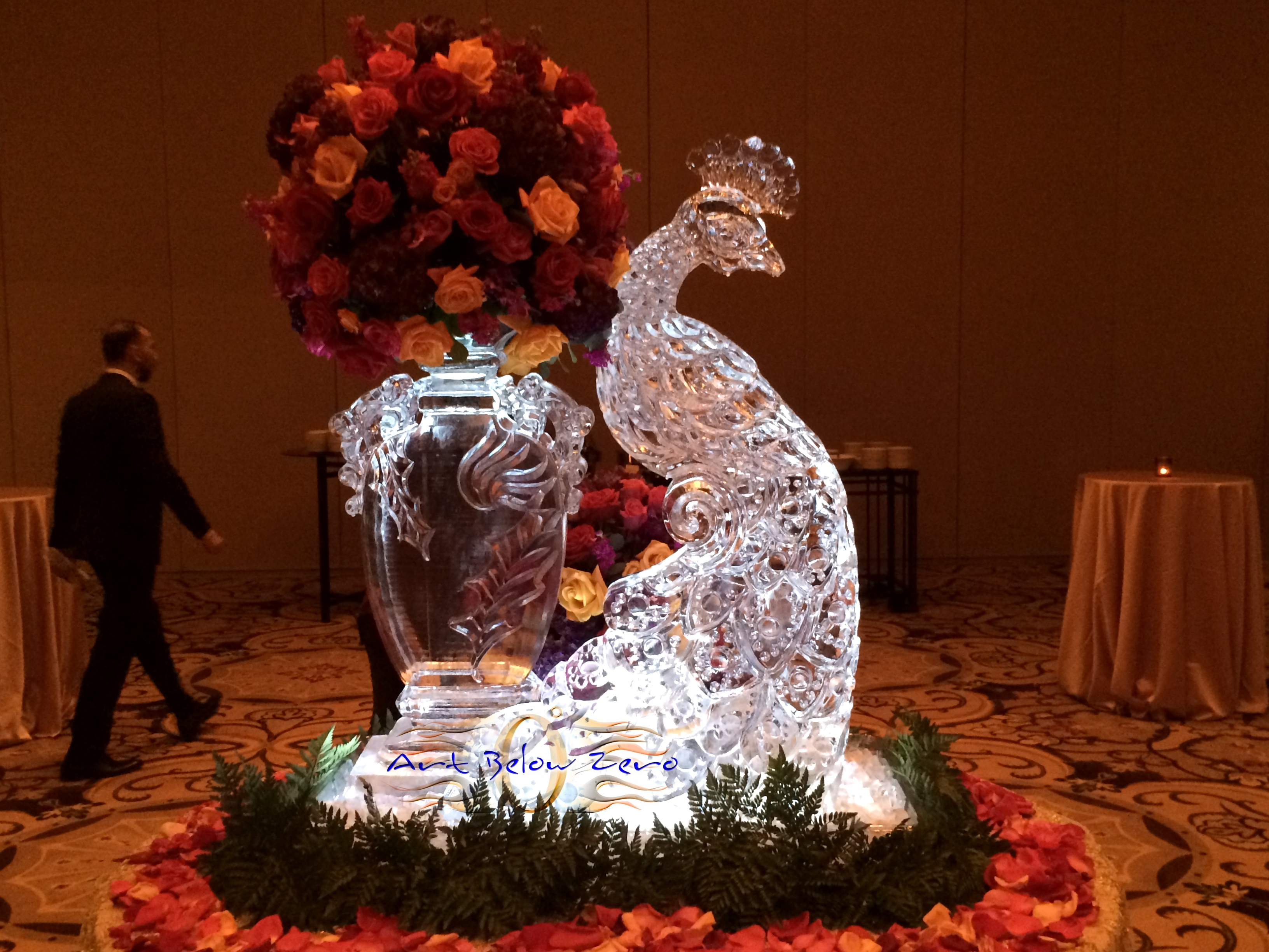 Art Below Zero Ice Sculptures Wedding Ice Sculptures