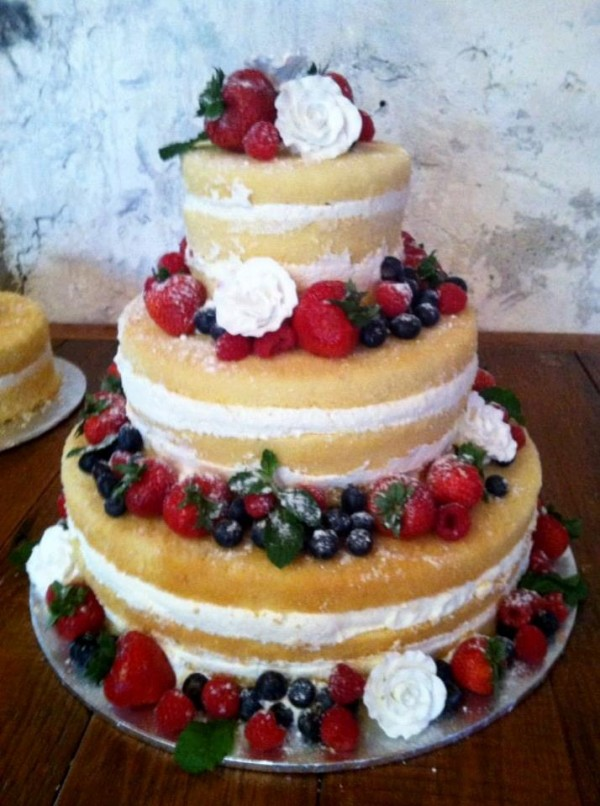 Revealing Details About Naked Wedding Cakes Partyspace