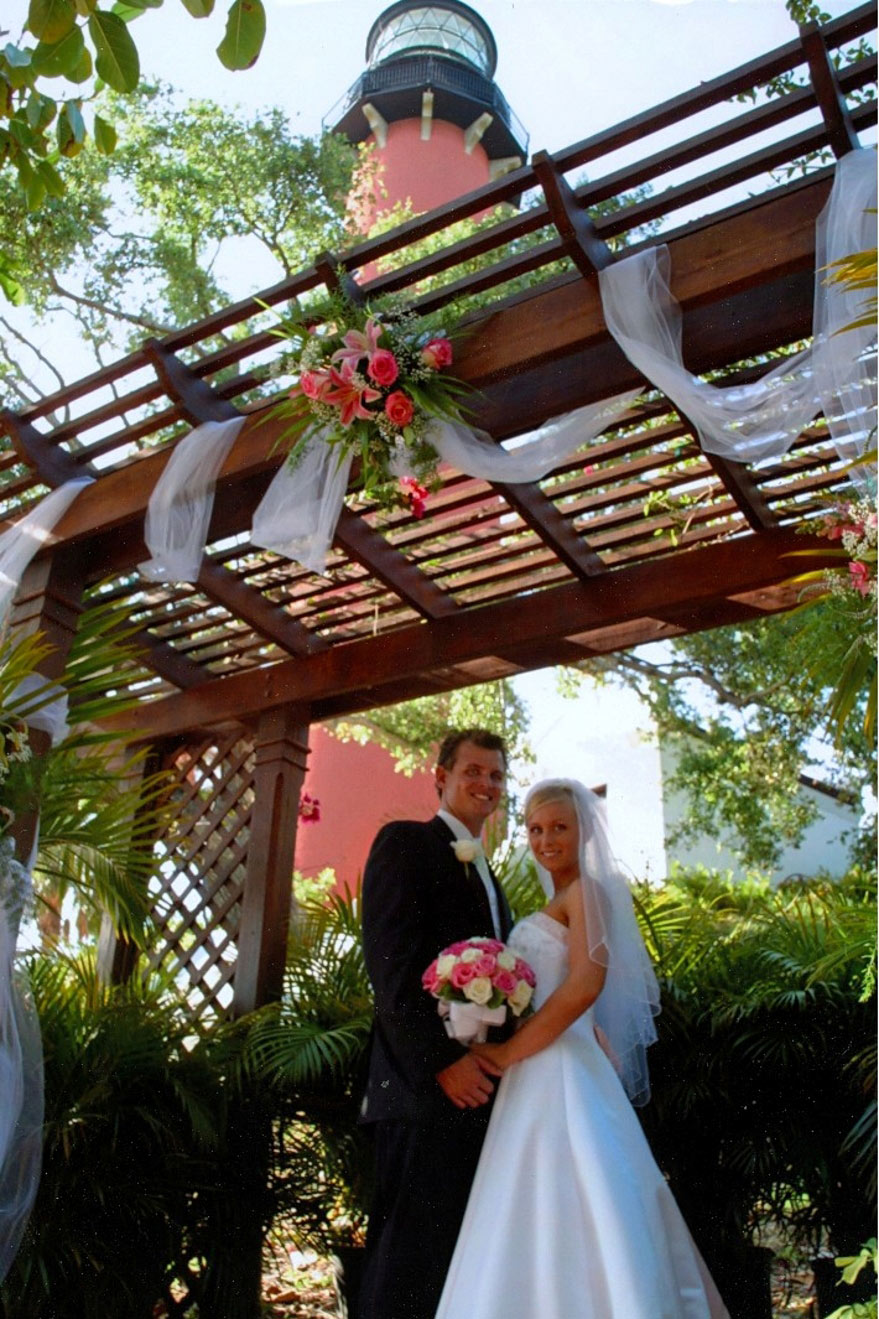 Jupiter Inlet Lighthouse  Museum Wedding Venue in South
