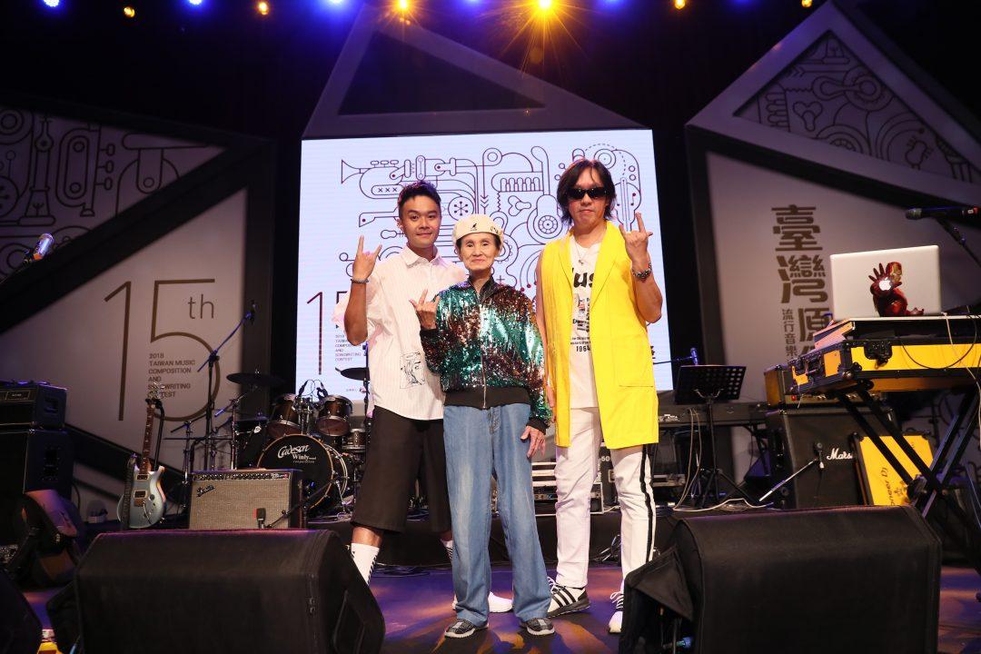 黃子佼連續7年、第6度牽手阿娟主持臺灣原創流行音樂大賽 台客電力公司搭檔文夏飆唱