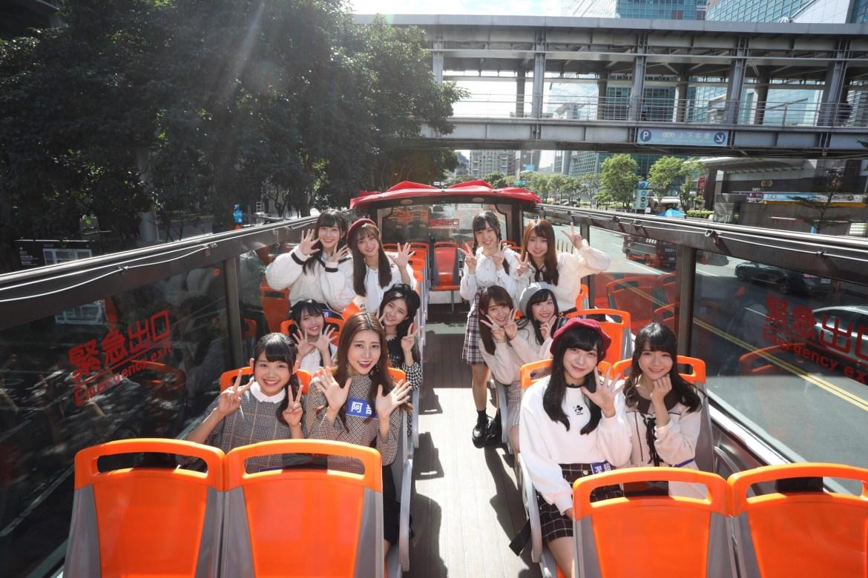 AKB48 Team TP 單曲成績開紅盤  專屬雙層巴士遊台北城