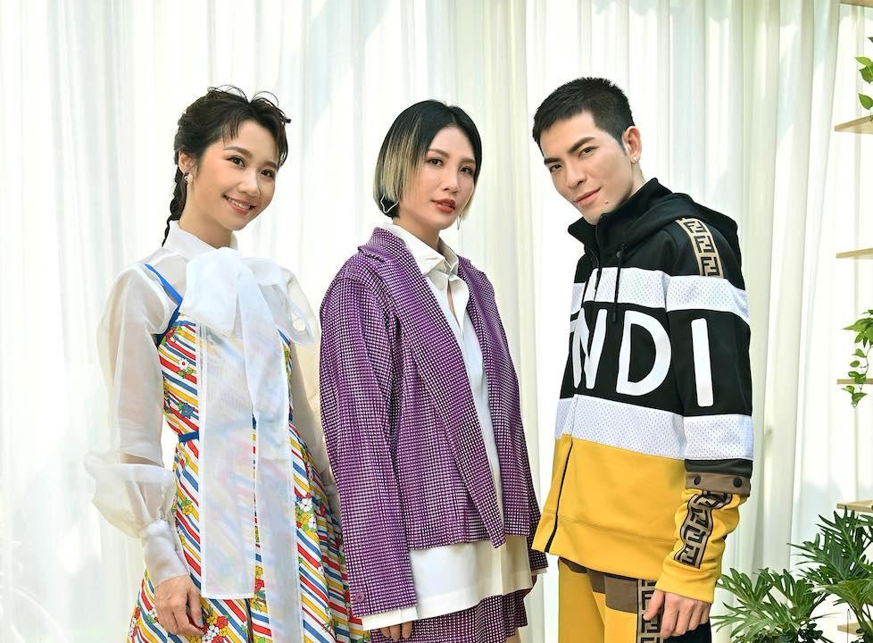 初入「金曲世家」 魏如萱化身學妹 與Lulu黃路梓茵、蕭敬騰同台飆戲