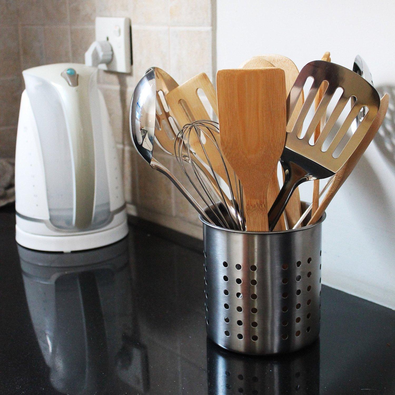 kitchen utensil caddy cabinet storage organizers holder  container cock