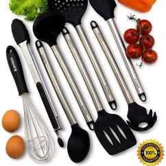Kitchen Utensil Set Online Designer Utensils  8 Piece Cooking Nonstick