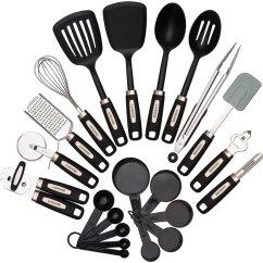 Kitchen Utensil Set Sink Plumbing Kit 22 Piece Utensils Sets  Home Cooking Tools