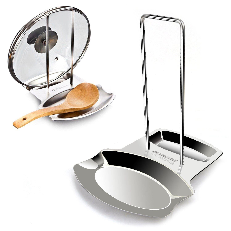 kitchen spoon rest buffet hutch yummy sam lid and utensils holder