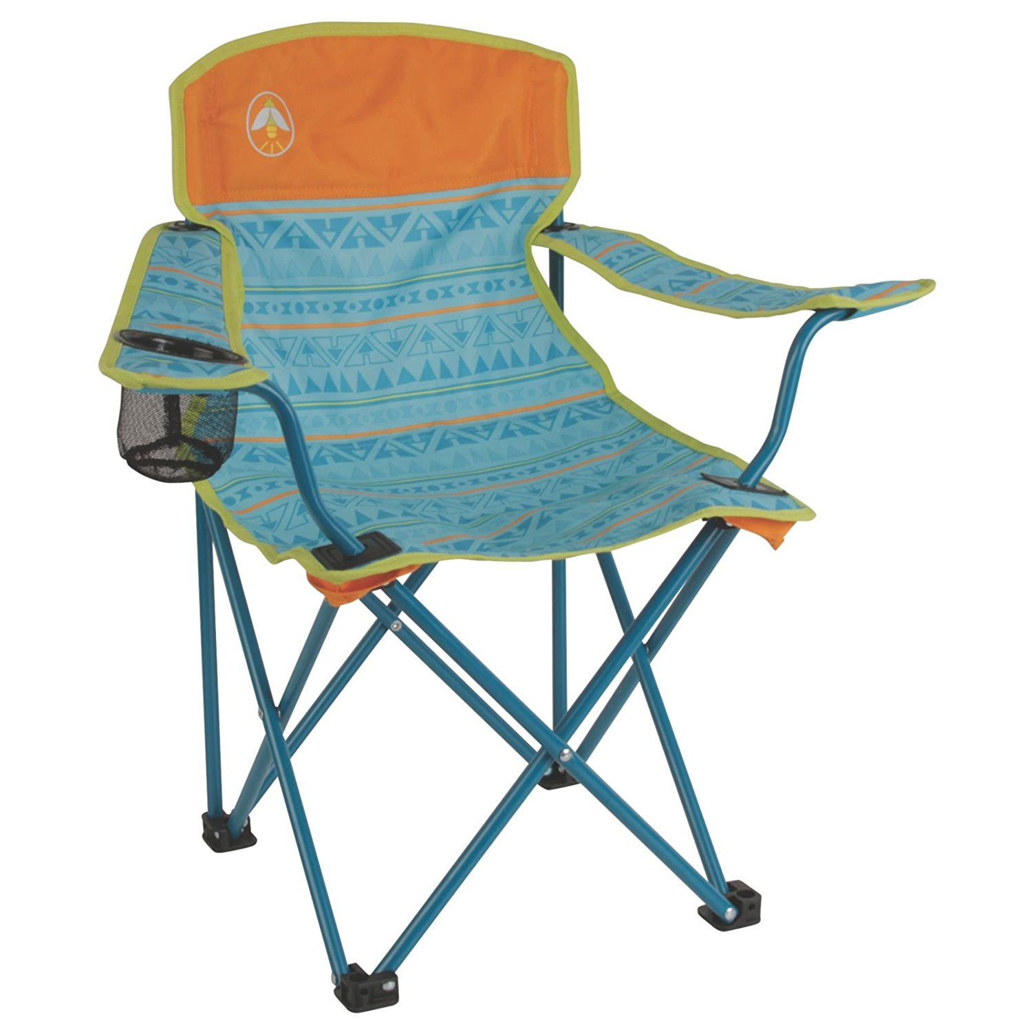 coleman oversized quad chair with cooler pouch linen dining room slip covers kids  party supply factory