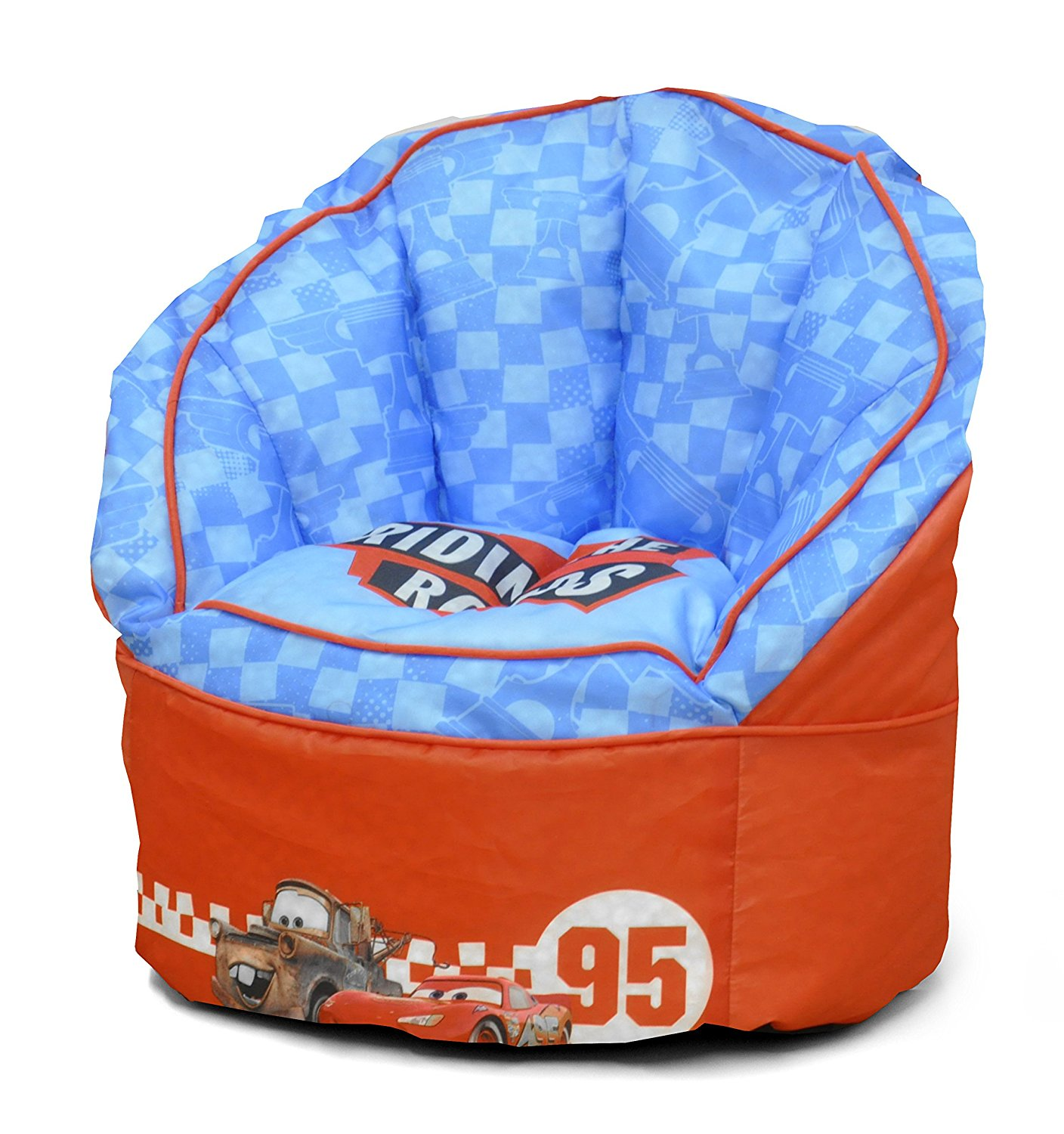 bean bag chair for toddler cherry dining chairs modern disney cars red  party supply factory
