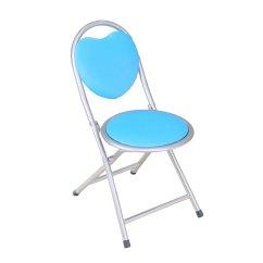 Blue Metal Folding Chairs White Side Chair Frenchi Home Furnishing Kids