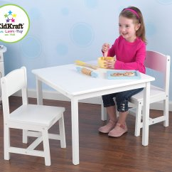 Kidkraft White Table And Chairs Ball For Work Aspen Chair Set  Party Supply