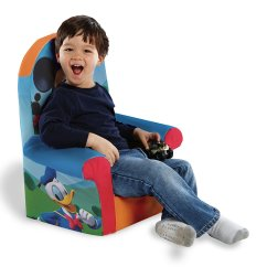Foam Toddler Chair Bedroom Clothes Marshmallow Furniture Childrens High Back